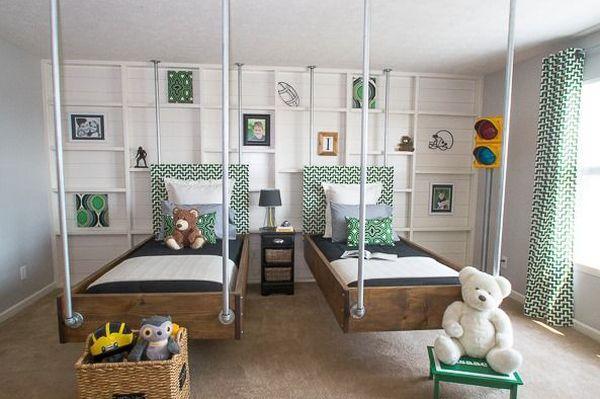 δωμάτια με Κρεμαστά Κρεβάτια10