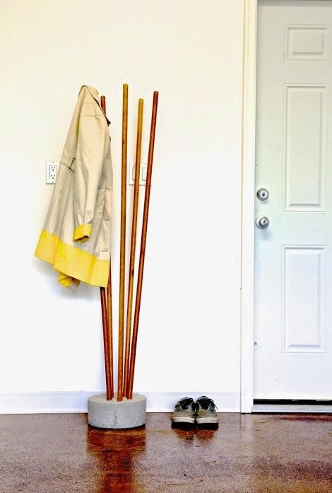 DIY κρεμάστρες και αγκίστρια για παλτό1