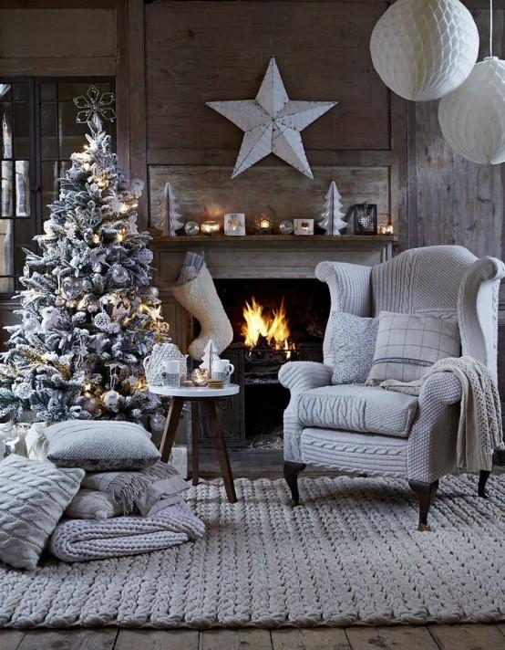 Ιδέες Διακόσμησης για τα Χριστούγεννα σε όλες τις αποχρώσεις του γκρι5