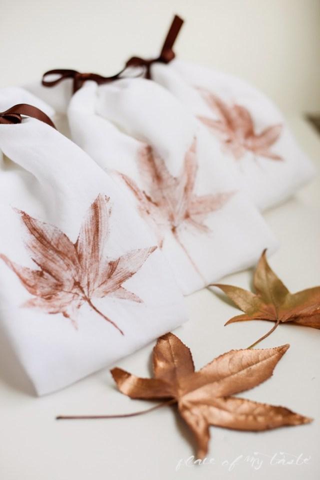Φθινοπωρινές DIY διακοσμητικές ιδέες με φύλλα5