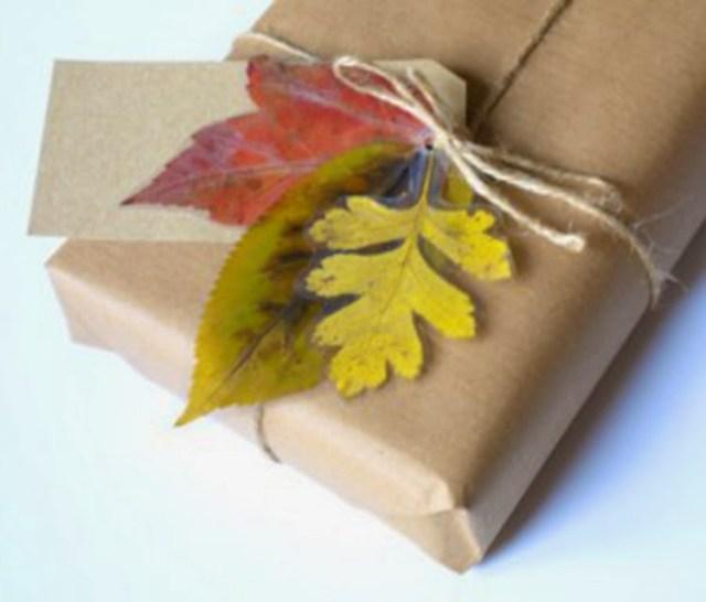 Φθινοπωρινές DIY διακοσμητικές ιδέες με φύλλα6