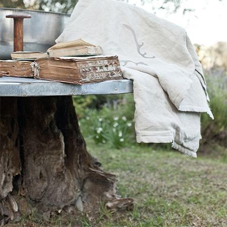 ιδέες με κορμούς δέντρου στον κήπο9