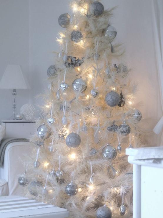 Ιδέες για Vintage λευκά  Χριστούγεννα44