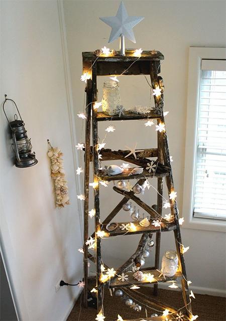 Πρωτότυπο χριστουγεννιάτικο δέντρο σκάλα10
