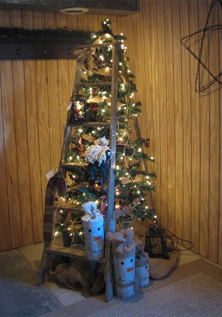 Πρωτότυπο χριστουγεννιάτικο δέντρο σκάλα11