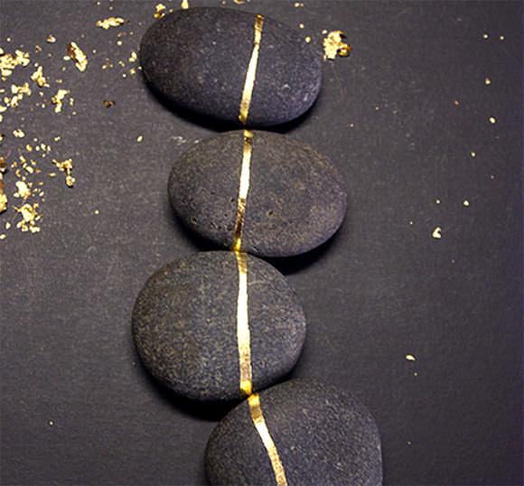 διακοσμήση με βότσαλα και πέτρες4