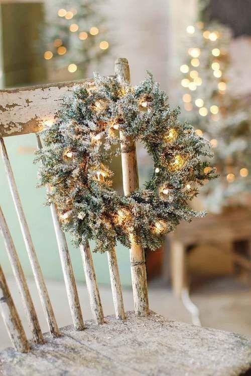 χρυσάφι Και Λευκές Χριστουγεννιάτικες Ιδέες26