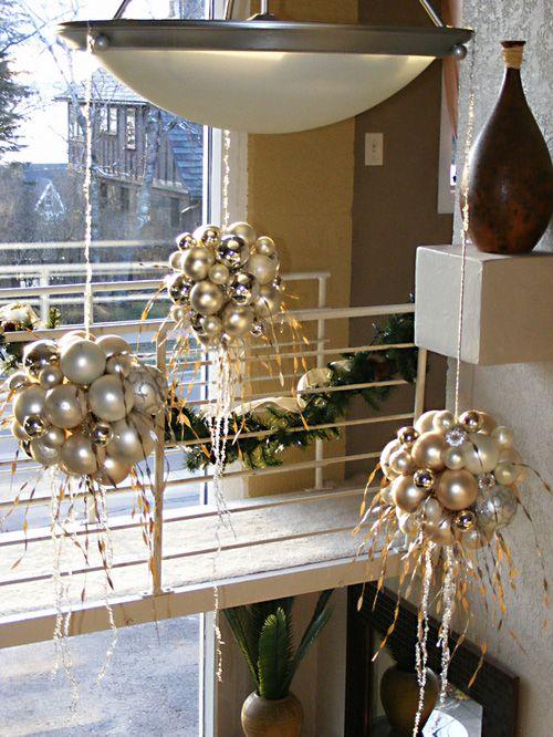 χρυσάφι Και Λευκές Χριστουγεννιάτικες Ιδέες31