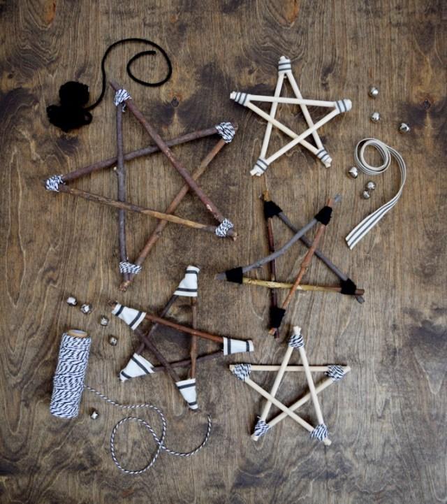 Χριστουγεννιάτικα αστέρια από Κλαδιά10