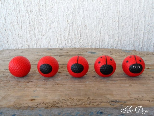 πασχαλίτσες για τον κήπο σας από μπαλάκια του γκόλφ5