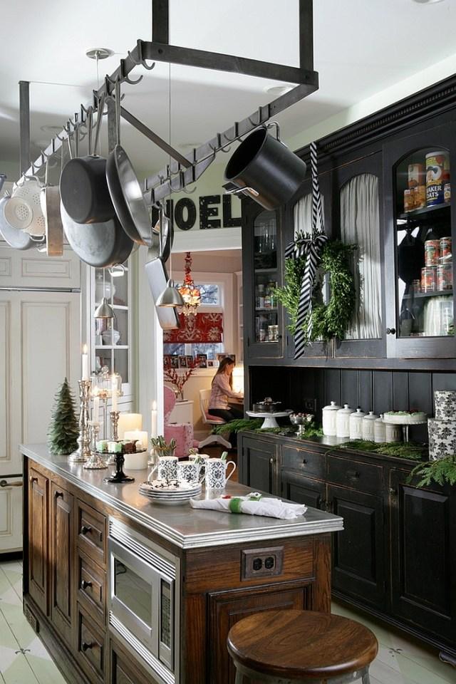 χριστουγεννιάτικη διακόσμηση κουζίνας5