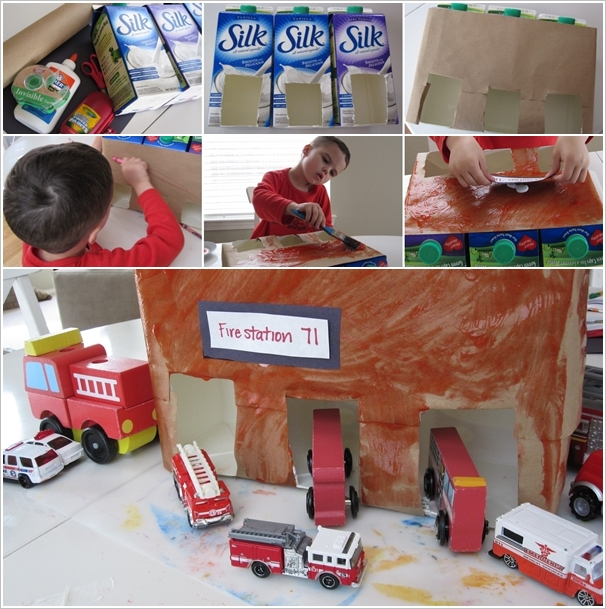 diy ιδέες με χάρτινα κουτιά γάλακτος7