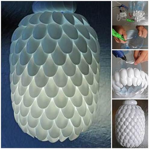 DIY έργα από πλαστικά κουτάλια3