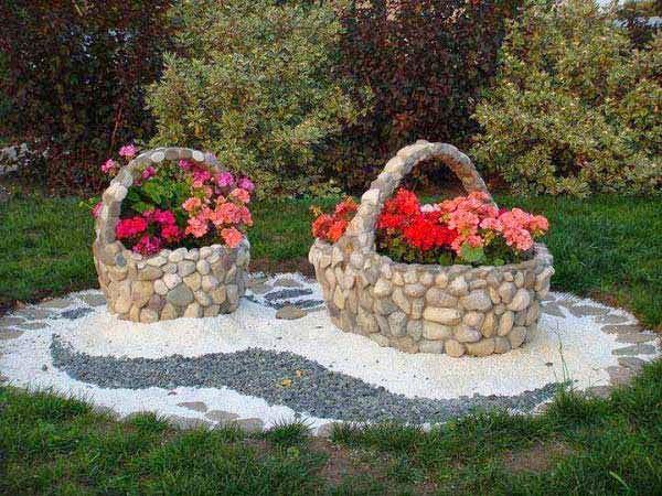 Ιδέες Διακόσμησης κήπου με βράχια και πέτρες13