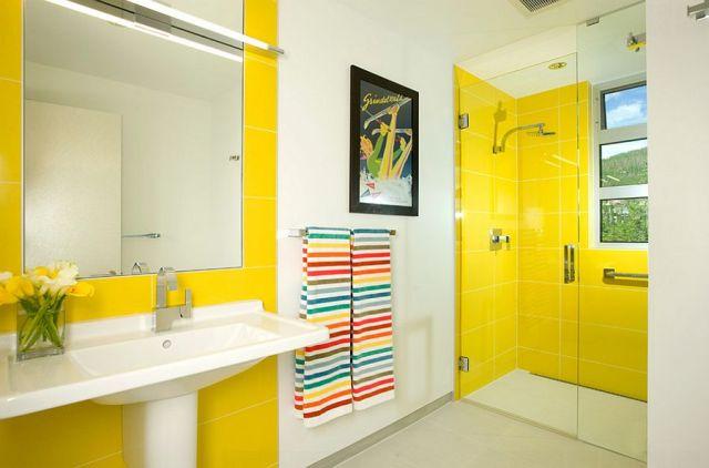 Μπάνια με τη ζεστή δελεαστική ομορφιά του Κίτρινου6