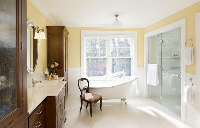 Μπάνια με τη ζεστή δελεαστική ομορφιά του Κίτρινου7