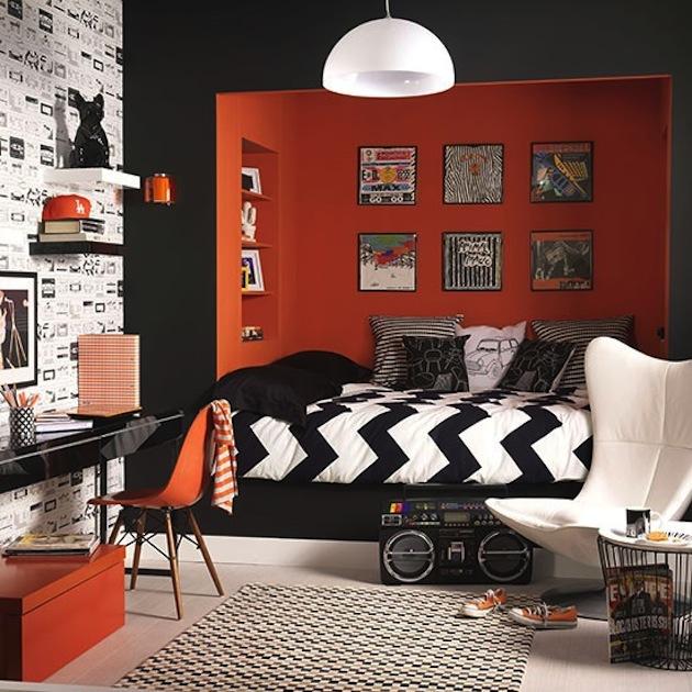 Χρωμάτα που κάνουν το Πορτοκαλί να δείχνει τέλειο με μαυρο