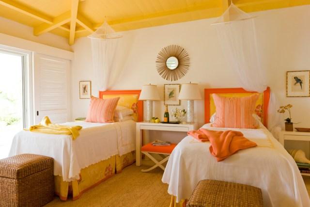 Χρωμάτα που κάνουν το Πορτοκαλί να δείχνει τέλειο χαρούμενα κίτρινα