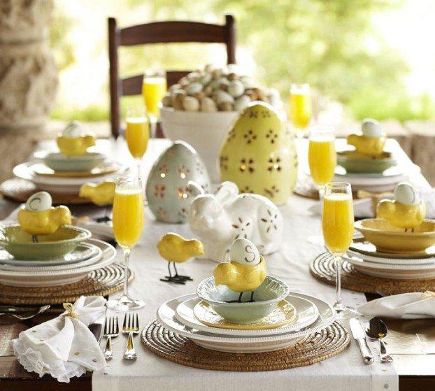 ιδέες Διακόσμησης για το Πασχαλινό τραπέζι 10
