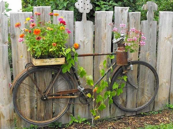 DIY Γλάστρες Κήπου12