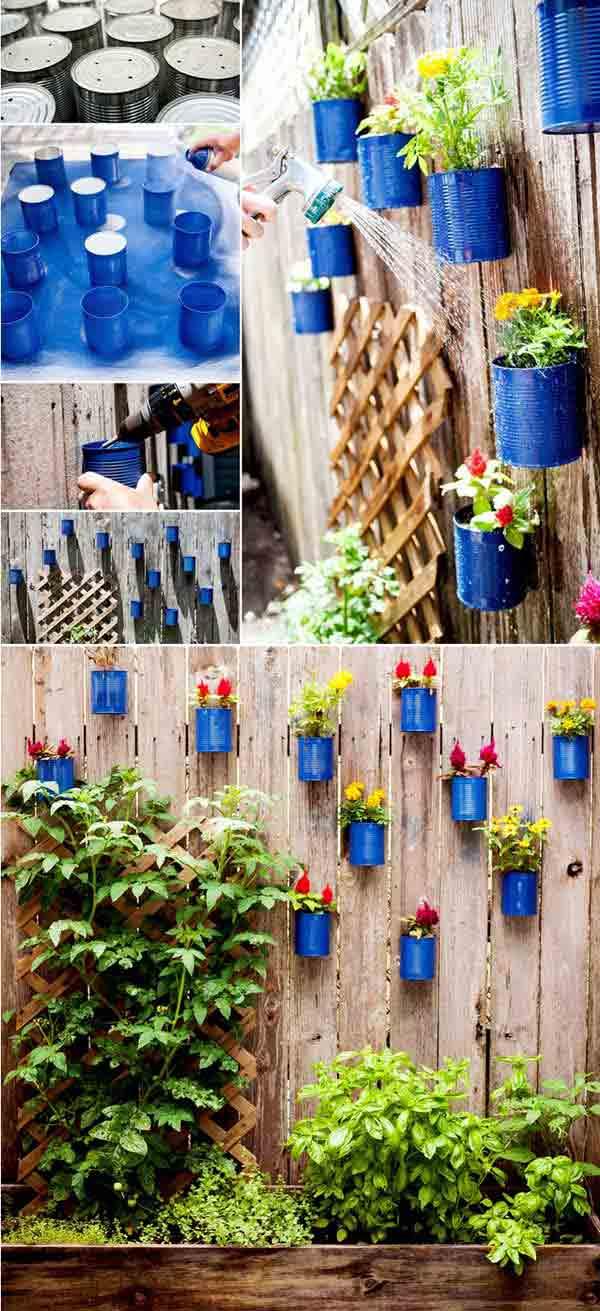 DIY Γλάστρες Κήπου14