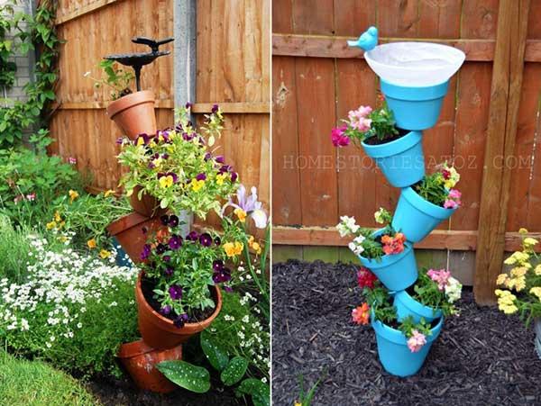 DIY Γλάστρες Κήπου18