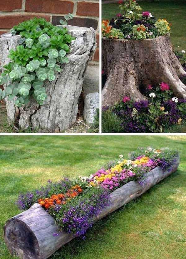 DIY Γλάστρες Κήπου21