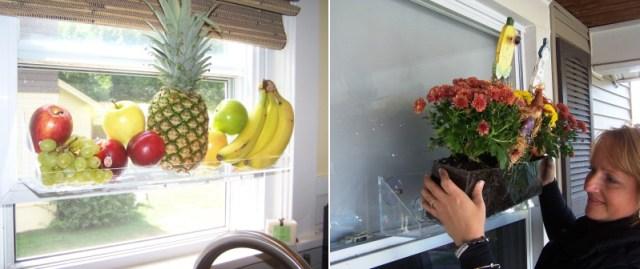 DIY Ιδέες Βότανο κήπων Παραθύρων για την κουζίνα σας6