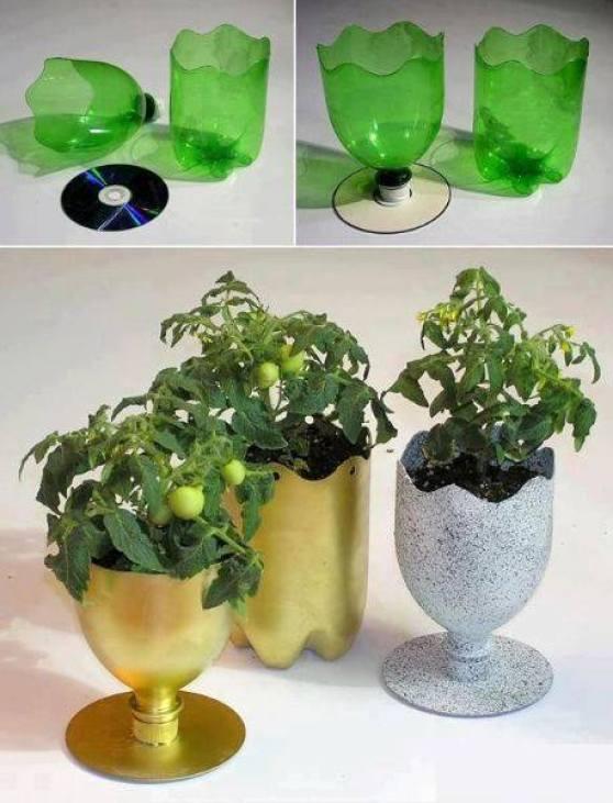 Diy ιδέες για την επαναχρησιμοποίηση πλαστικών μπουκαλιών6