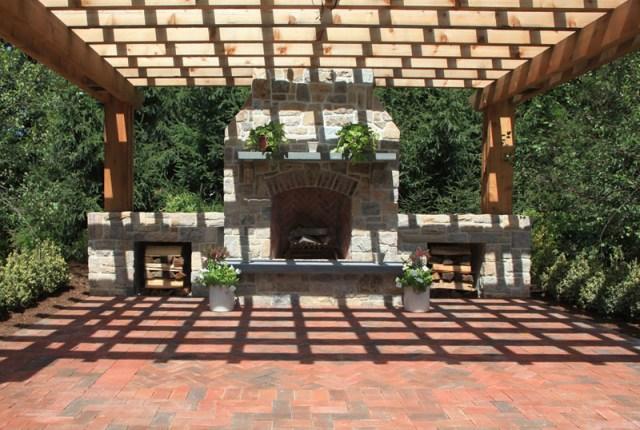 Ιδέες σχεδιασμού ξύλινης πέργκολας8