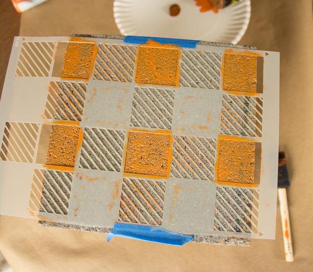 DIY Βάζα από τσιμεντένια μπλόκα2
