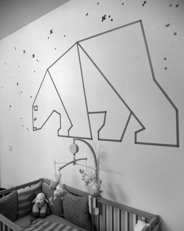 DIY Διακόσμηση Τοίχου Με Washi Tape2
