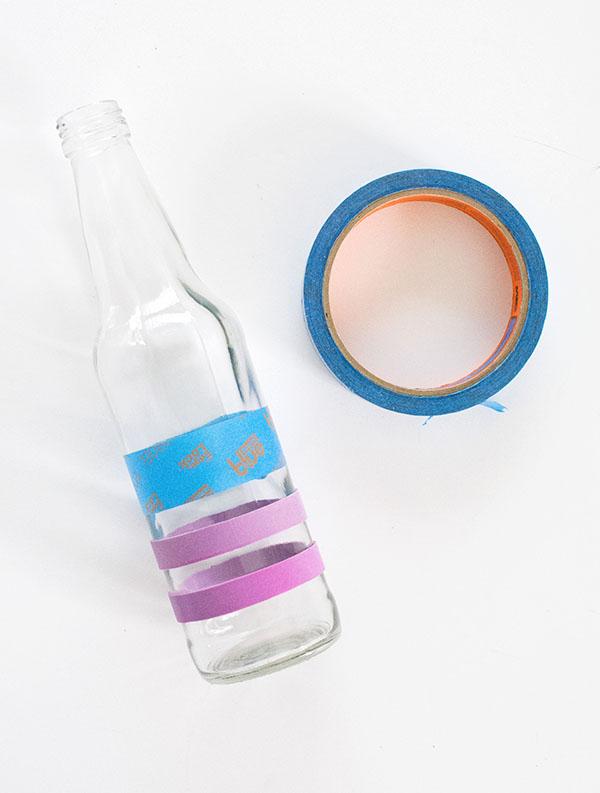 DIY Πολύχρωμα βάζα3