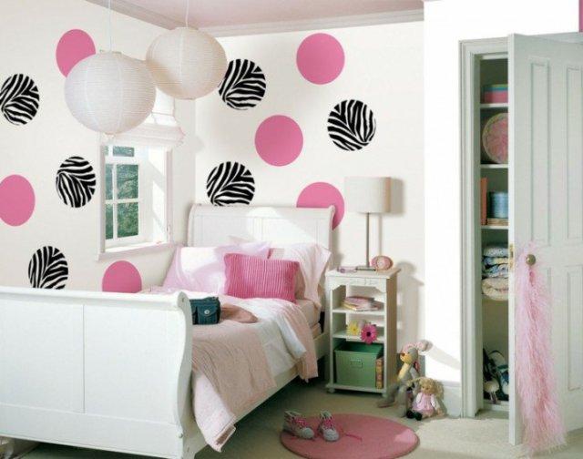Παιδικά υπνοδωμάτια με ενδιαφέρουσες ιδέες διακόσμησης τοίχου1