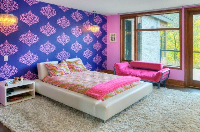 Παιδικά υπνοδωμάτια με ενδιαφέρουσες ιδέες διακόσμησης τοίχου11