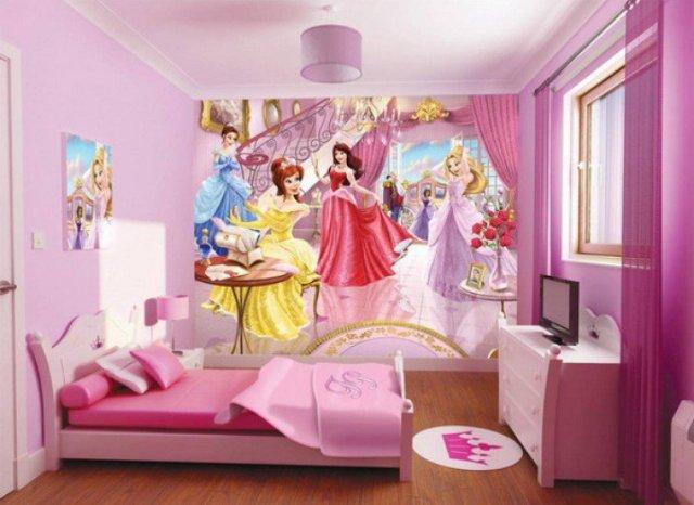 Παιδικά υπνοδωμάτια με ενδιαφέρουσες ιδέες διακόσμησης τοίχου12