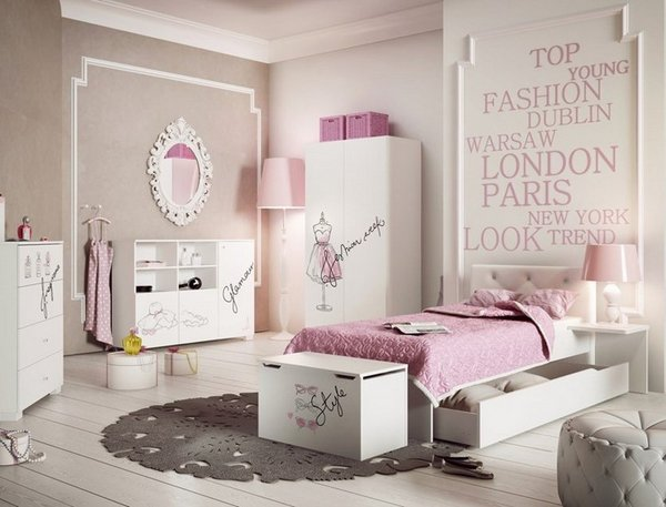 Παιδικά υπνοδωμάτια με ενδιαφέρουσες ιδέες διακόσμησης τοίχου15