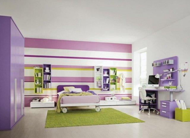 Παιδικά υπνοδωμάτια με ενδιαφέρουσες ιδέες διακόσμησης τοίχου9