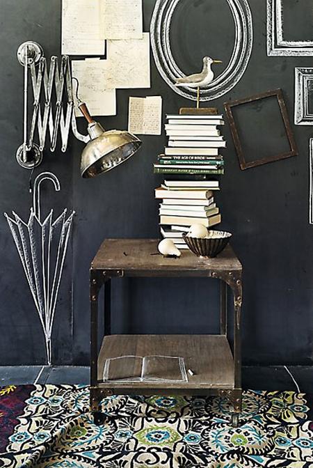 Τοίχοι μαυροπίνακας σαν τέχνη2