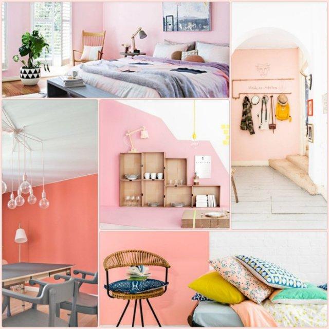 Χρώμα σχεδιαστικές ιδέες για ένα λαμπερό σπίτι