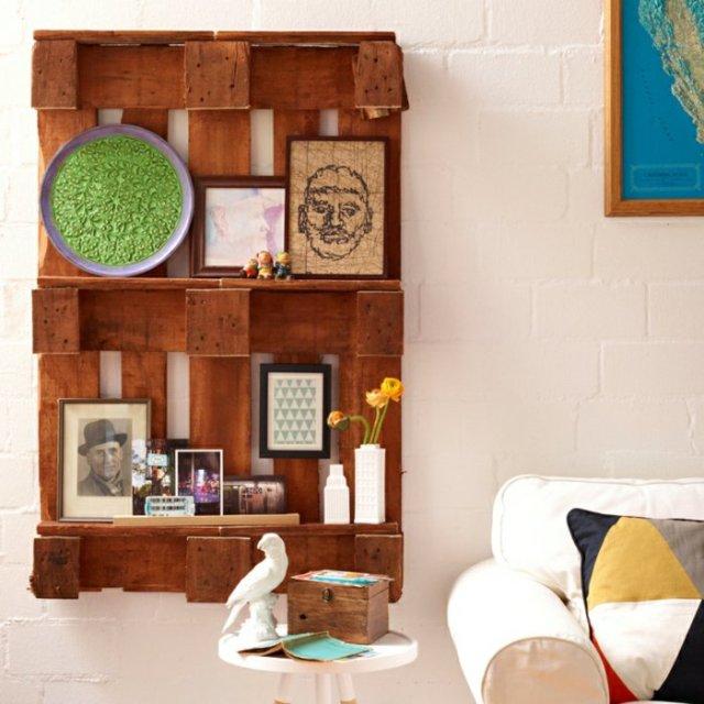 Ιδέες με ξύλινες παλέτες19