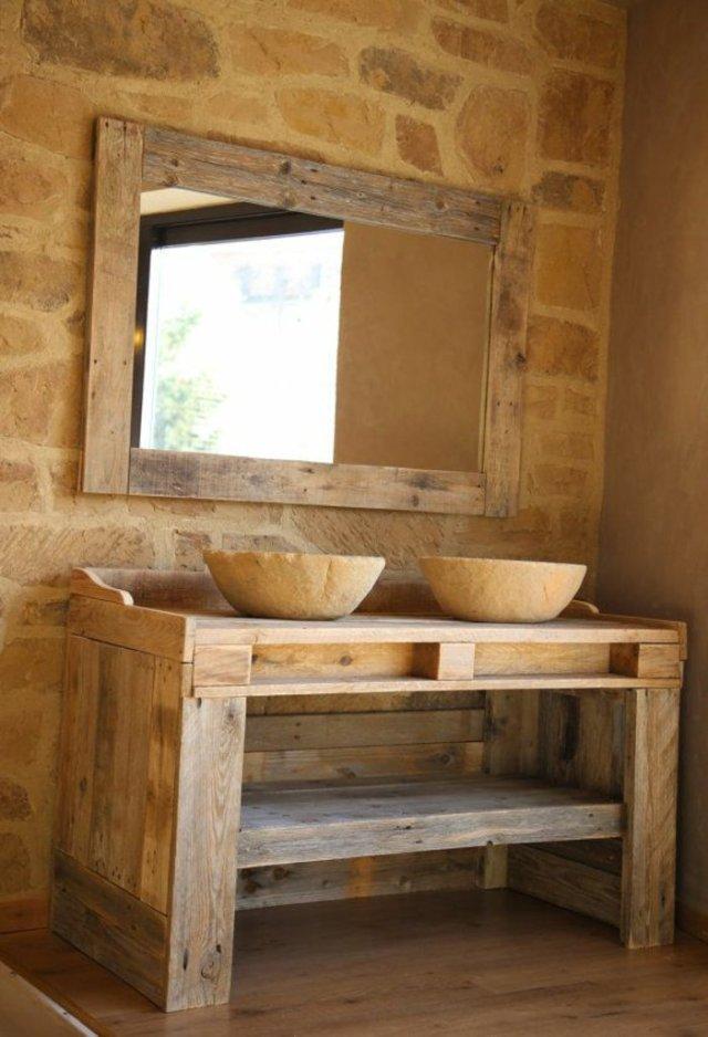 Ιδέες με ξύλινες παλέτες25