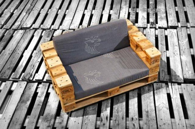 Ιδέες με ξύλινες παλέτες32