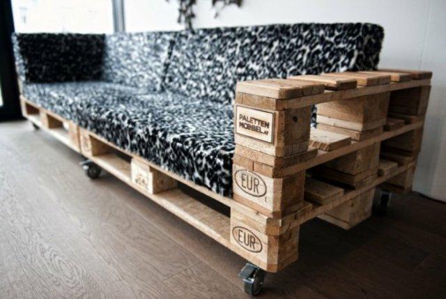 Ιδέες με ξύλινες παλέτες36