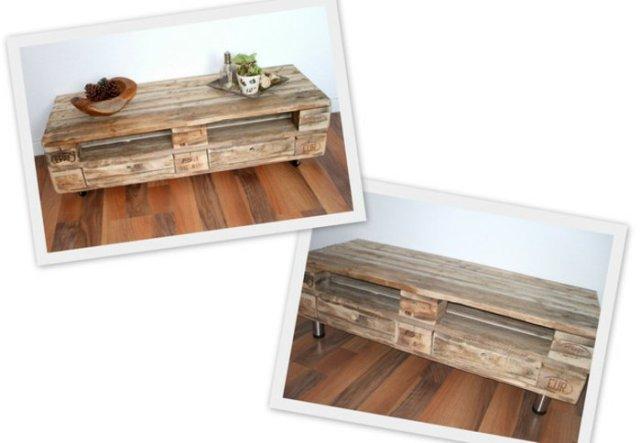 Ιδέες με ξύλινες παλέτες50