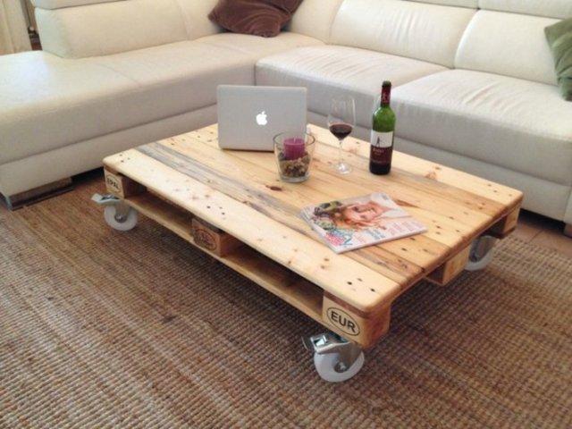 Ιδέες με ξύλινες παλέτες59