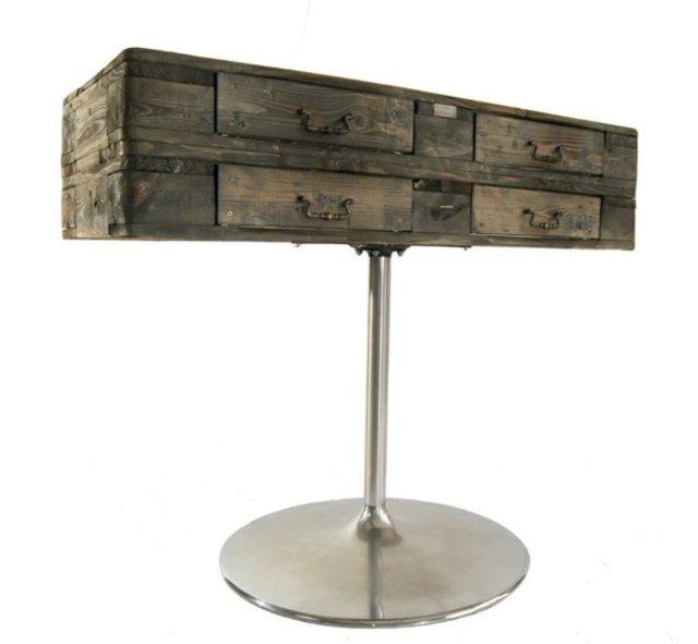 Ιδέες με ξύλινες παλέτες60