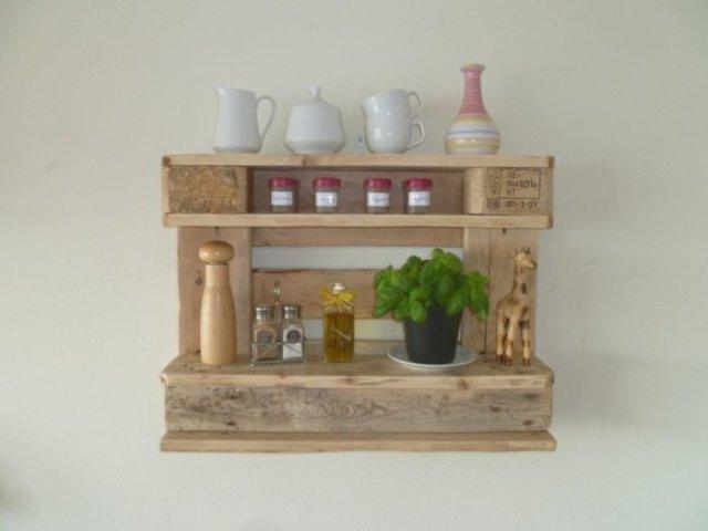 Ιδέες με ξύλινες παλέτες61