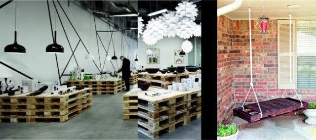 Ιδέες με ξύλινες παλέτες64