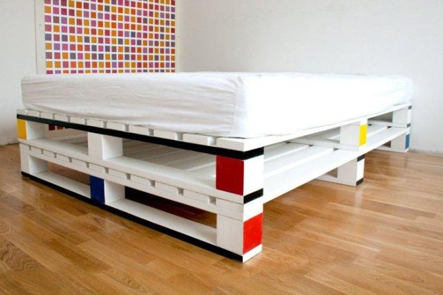 Ιδέες με ξύλινες παλέτες81